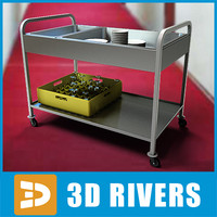 Room service cart 04 by 3DRivers