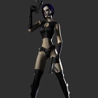 theta character rigged max