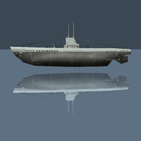 U-boat German Type II Submarine (WW 2)