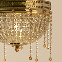 crystal lamp golden 3ds