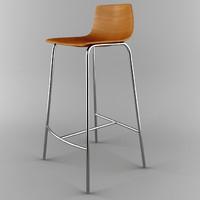 jacobsen stool 3d model