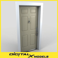 3d residential entry door 15
