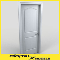 3ds max residential interior door 06