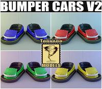 bumper cars v2 3d model