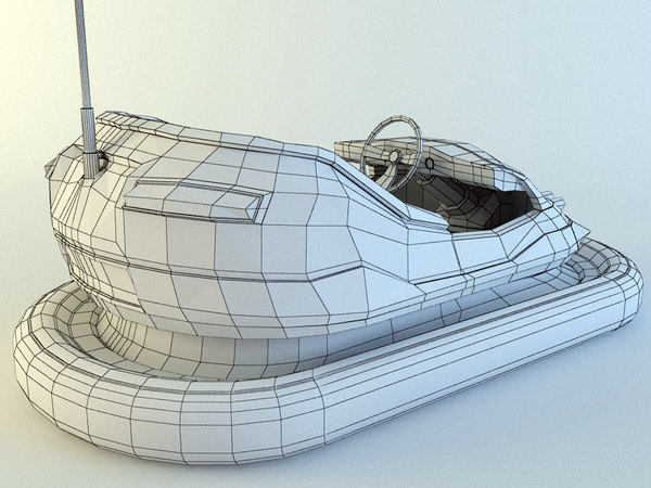 bumper cars v2 3d model - Bumper Cars V2... by Tornado Studio