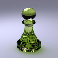 Chess Pawn with Vray.max