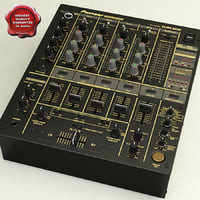 3d model pioneer djm 600s