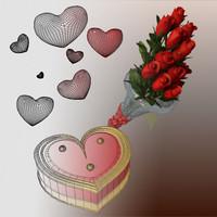 3d valentine day gift