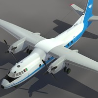maya aircraft an-24 transport ariana