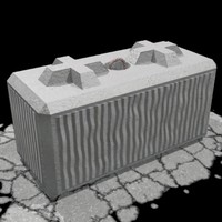3d barrier block