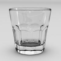3d whiskey tumbler model