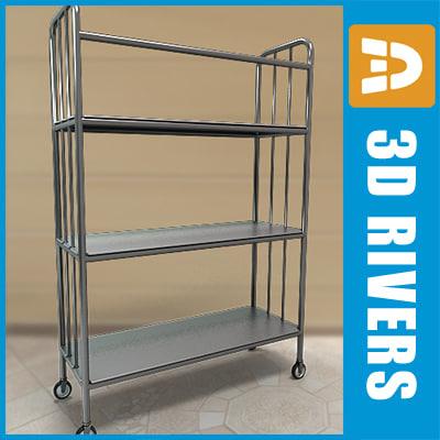 Linen cart 02 by 3DRivers