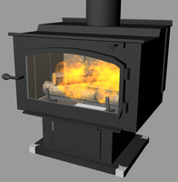 Vogelzang The Performer Vacation Cabin Wood Burning Stove