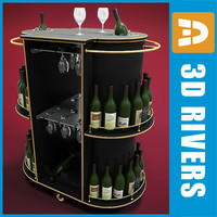 Portable hotel bar by 3DRivers