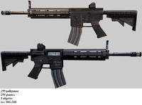MK 16 Mod 0 Scar (c4d).rar