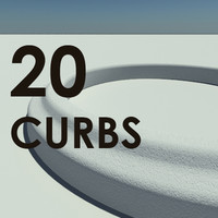 20 Standard Street Curbs - Accurate and Scale