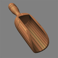 wooden scoop.lwo