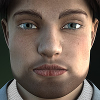 3d model michael v2 1 realistic male