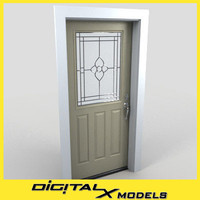 Residential Entry Door 01
