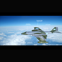 3ds max english electric canberra b