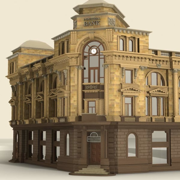 max building bank - Building.Bank... by 3DLocker