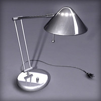 3d model office desk lamp
