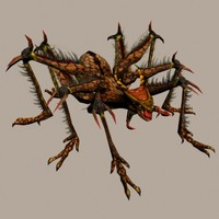 3d model spider dragon