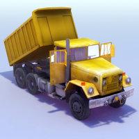 Dumper Truck 3DModel