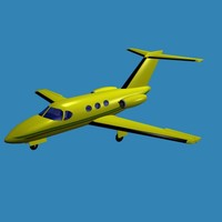 3ds max cessna citation