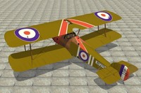 lightwave sopwith camel fighter