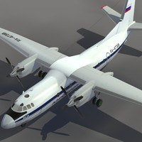 max aircraft an-24 transport aeroflot