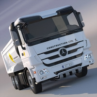 New Mercedes Actros Dumper
