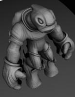 3d model alien explorer