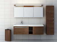 bathroom furniture set 3