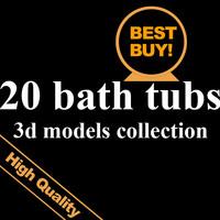 20 bath tubs