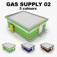 3d gas supply 02 model