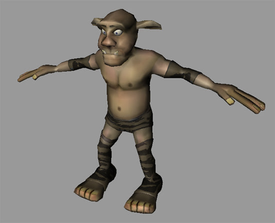 Goblin Animated Game Character