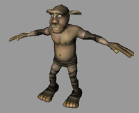 3d goblin character animations