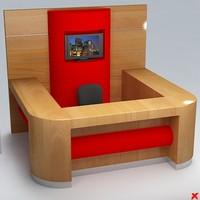 counter 3d model