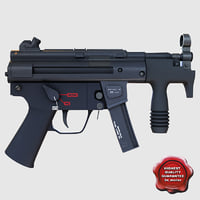 Submachine gun K01