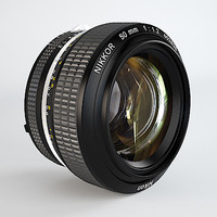 Nikkor 50mm f/1.2 Prime Lens