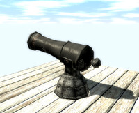 obj old cannon