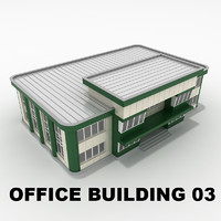 3d model of office building 03