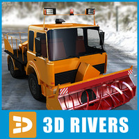 Snow removal vehicle 01 by 3DRivers