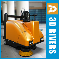 Street sweeper 04 by 3DRivers