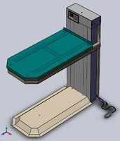 Robotic Veterinary Medical Lift Table