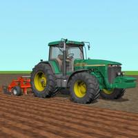 3d tractor subsoiler