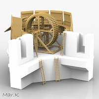 3d crossbow-machine leonardo da