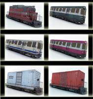 3d model trains