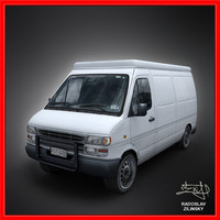 VAN 3d model (clean version)